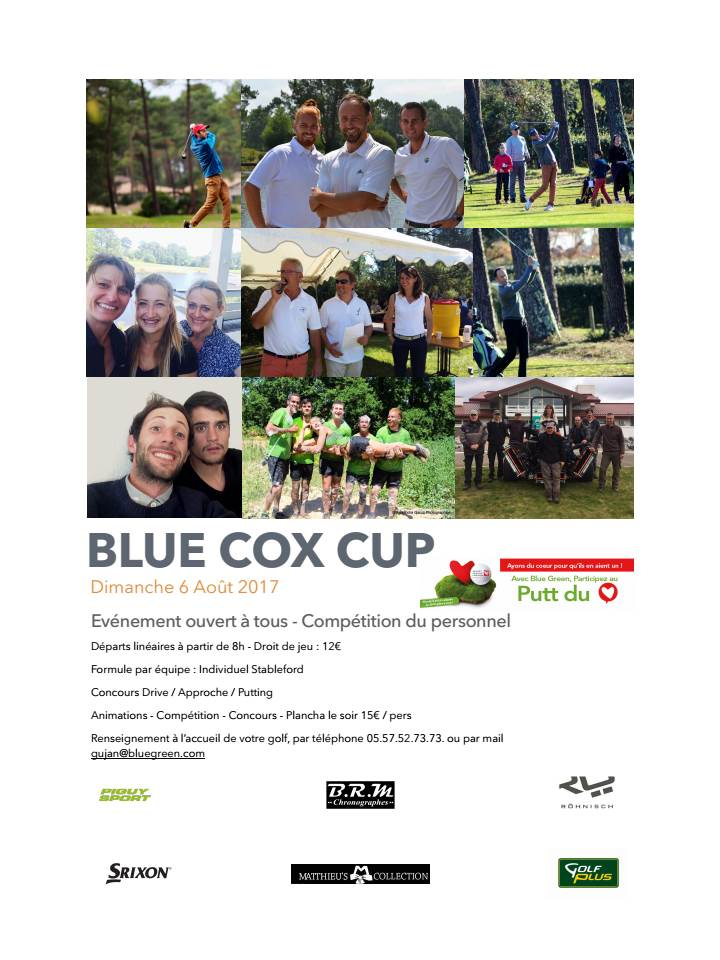 BLUE COX CUP
